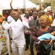 Child Dedication @ TAKE CHARGE WORLD Inc