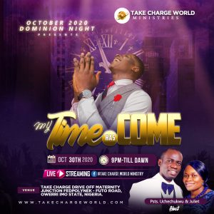 DOMINION NIGHT : TAKE CHARGE WORLD MINISTRIES